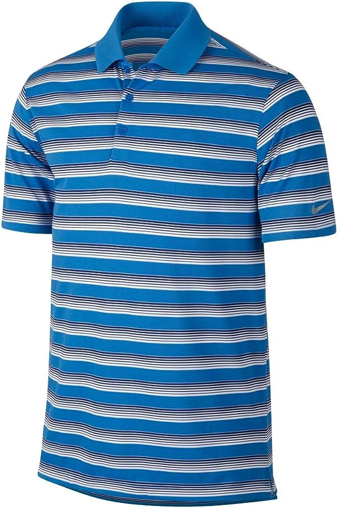 Nike Golf para Hombre Tech Polo Camiseta de Rayas de Vent - 639710 ...