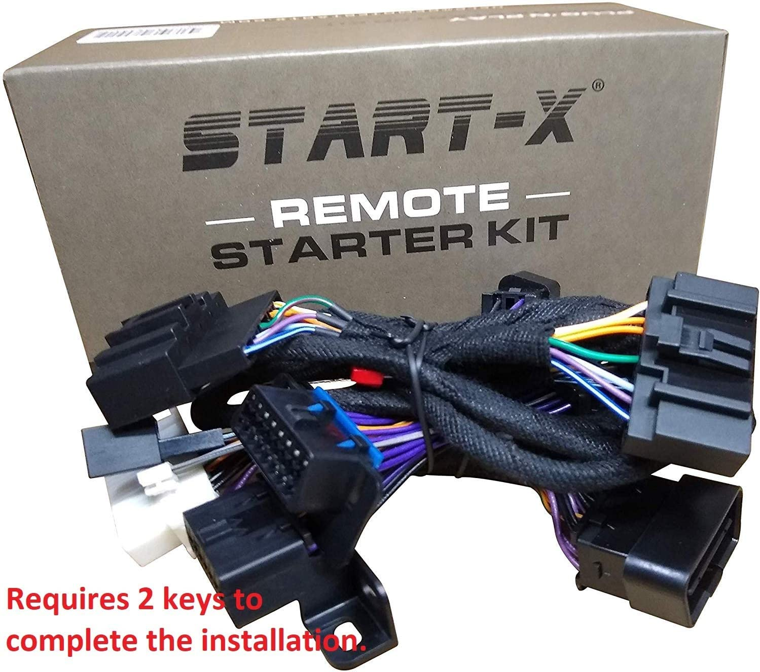Start-X Remote Starter Kit for Ford F-150 11-14 F-350 11-16 Explorer Focus 12-15 17 F-250 11-16 Expedition 15 Edge 11-14 F-550 11-16 F-450 11-16