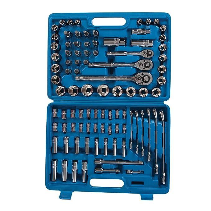 Silverline 868818 - Juego de 90 herramientas para mecánico: Amazon.es: Bricolaje y herramientas
