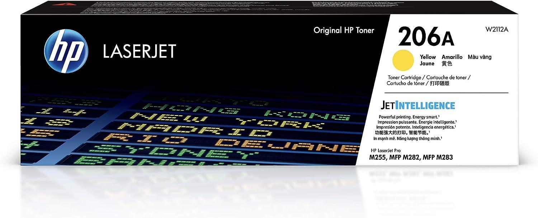 HP 206A | Toner Cartridge | Yellow | W2112A