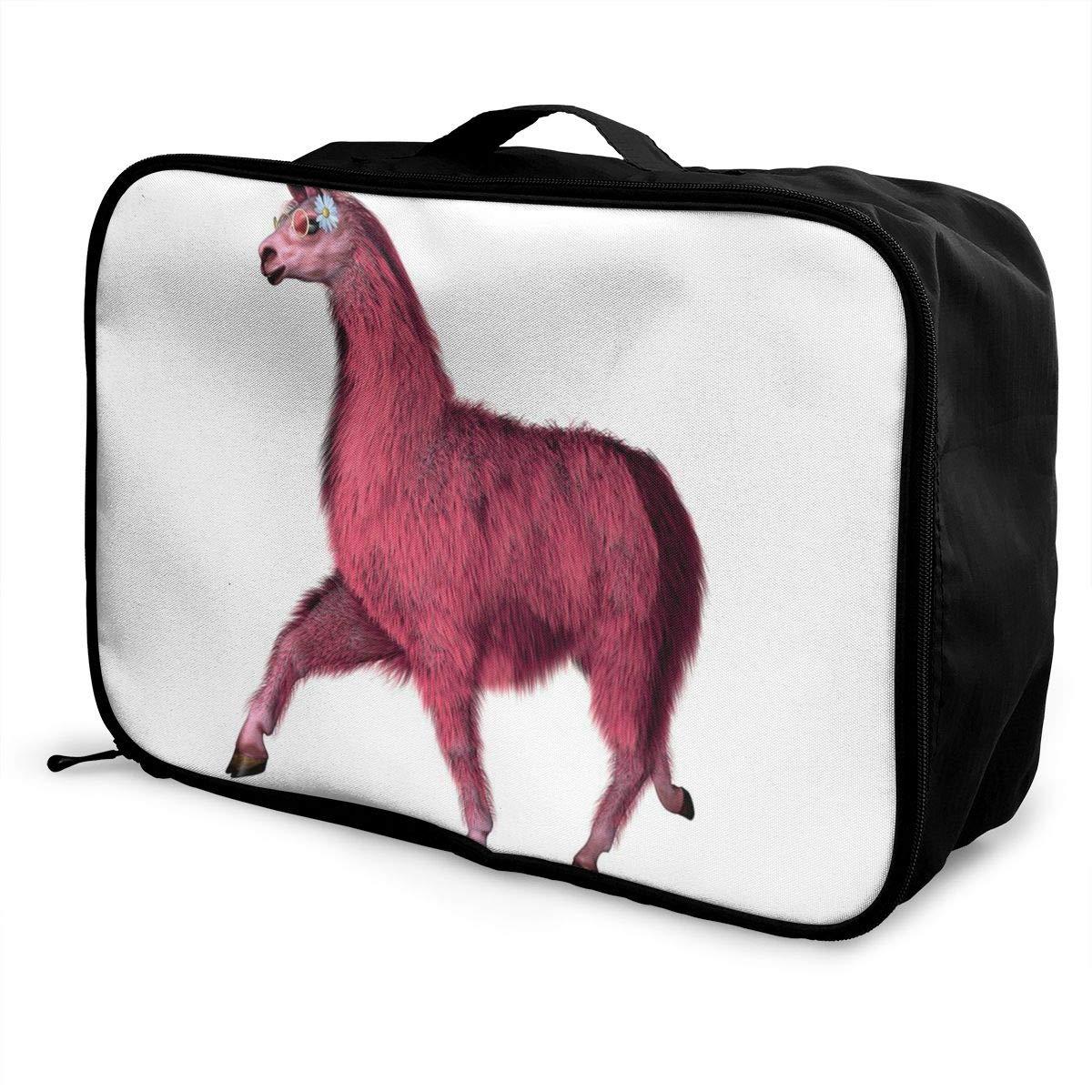 Canvas Travel Weekender Bag,Fashion Custom Lightweight Large Capacity Portable Luggage Bag,Suitcase Trolley Bag ADGAI Path-resize 10