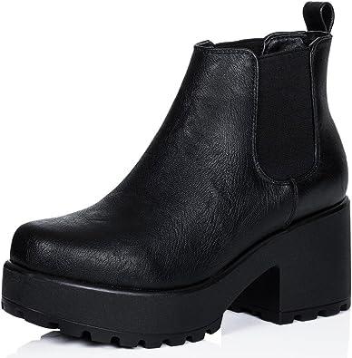 Spylovebuy HELIXA Block Heel Cleated