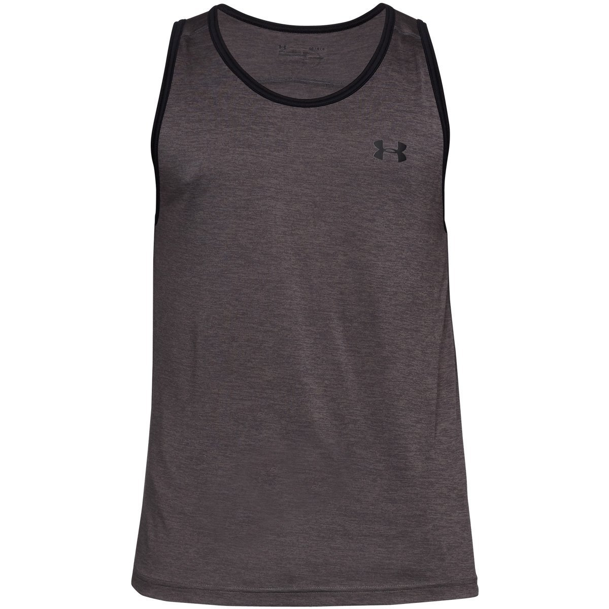 Under Armour Men's Tech Tank Top, Charcoal (020)/Black, Small