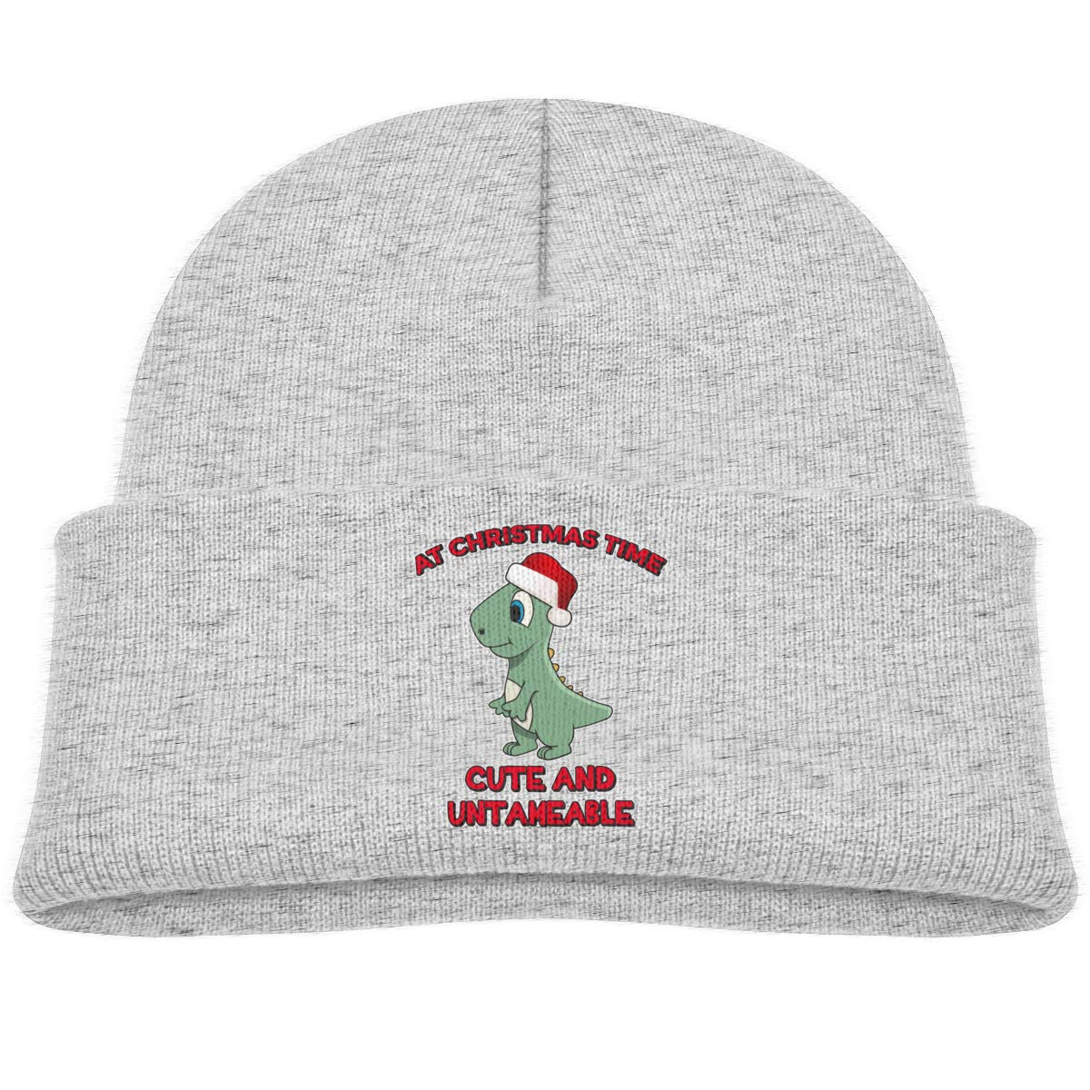 Moniery at Christmas Time Cute and Untameable Skull Cap Toddler
