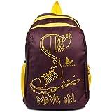 Lutyens Purple Yellow Mini School Bag/Caual Backpack (Lutyens_233)