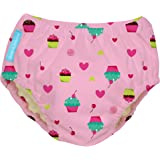 Charlie Banana Reusable Swim Diaper Cupcakes, Baby Pink, X-Large