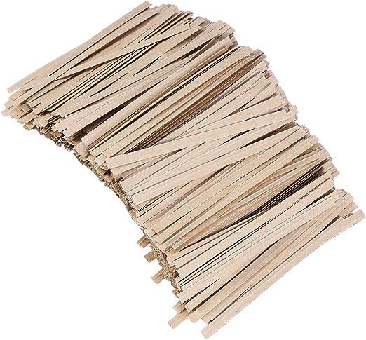 TOYANDONA - Corbatas de papel kraft para regalo, 1000 unidades ...
