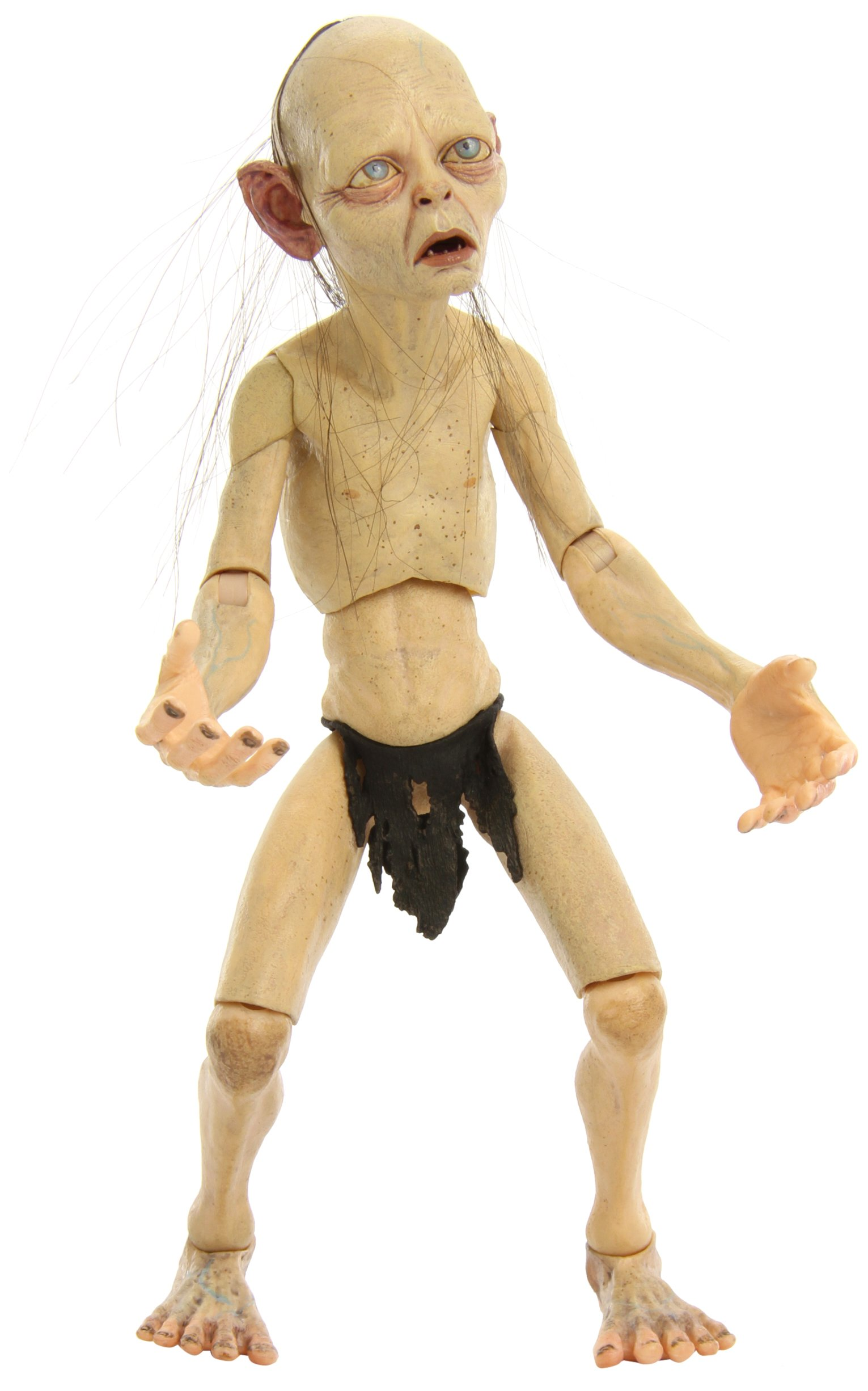 NECA Lord of The Rings Smeagol Action Figure, 1/4 Scale