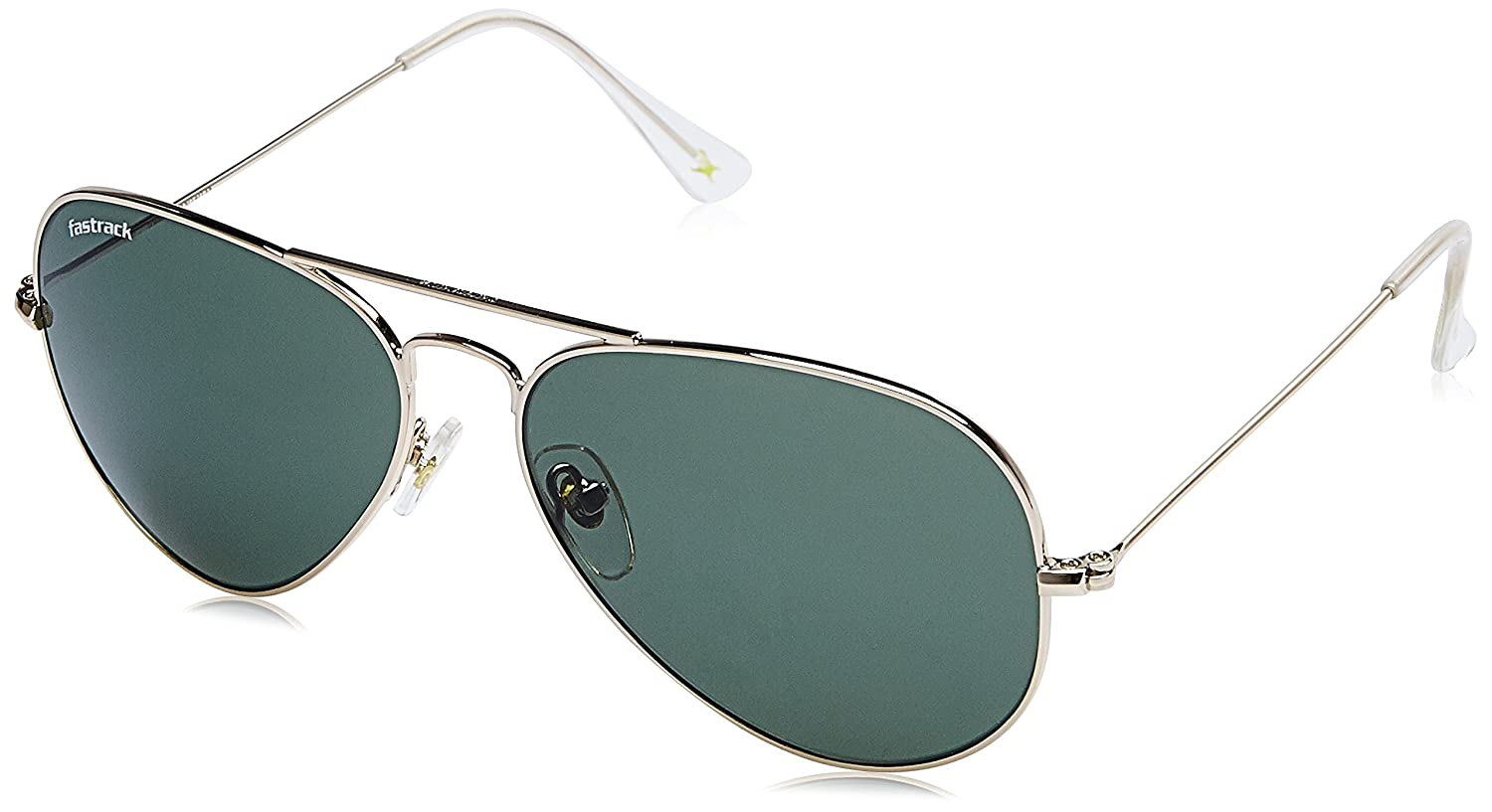 772b44e63f Fastrack UV Protected Aviator Men s Sunglasses - (M165GR17G