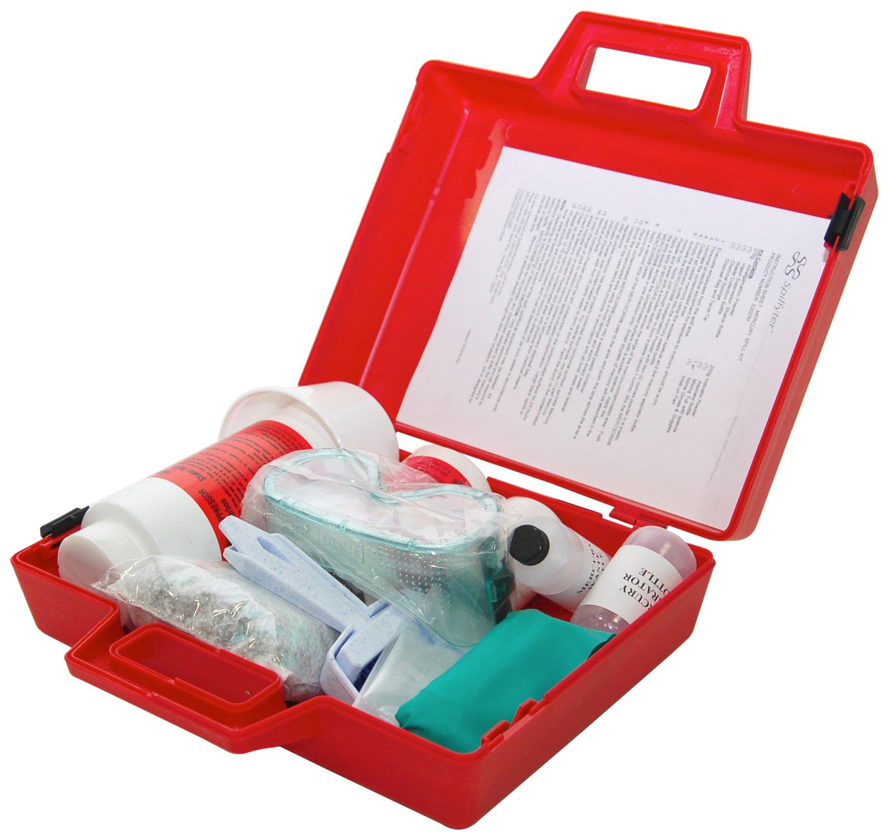 Spilfyter 520250 Specialty Spill Control Standard Mercury Spill Kit