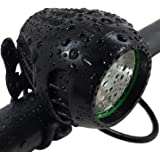 Bright Eyes Newly Upgraded and Fully Waterproof 1200 Lumen Rechargeable Mountain, Road Bike Headlight, 6400mAh Battery (Now 5