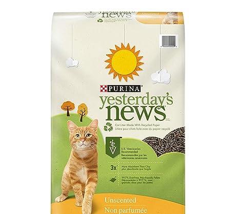 Amazon.com: Purina Yesterdays News - Arena de papel sin ...