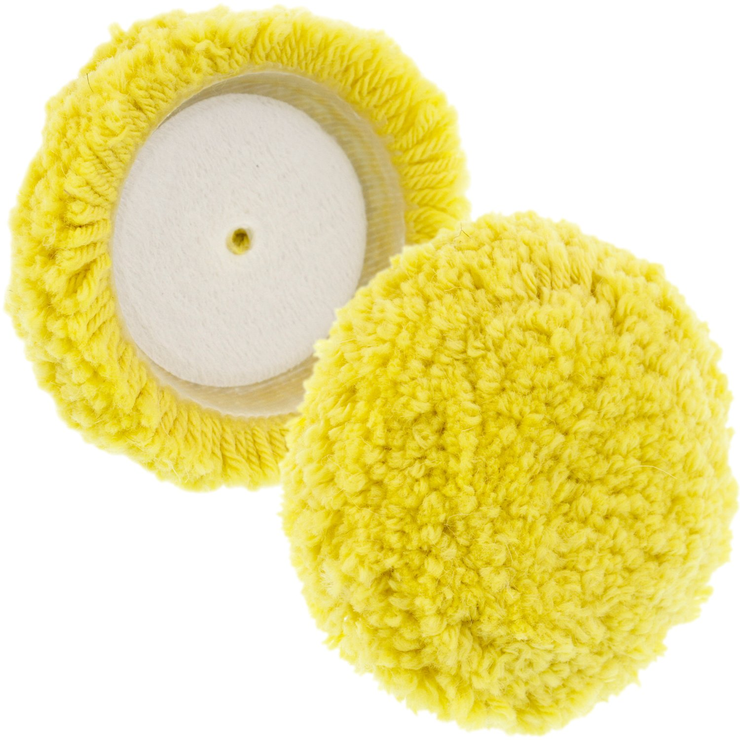 TCP Global Brand 3 Mini Buffing and Polishing Pad Kit with 4 Pads and 1//4 Drill Adapter Backing Plate