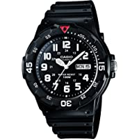 Casio Collection MRW-200HC Men Analogue Quartz Watch With Resin Strap, Black