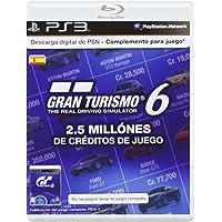 Sony - Tarjeta PSN GT6 - 2.5 Millones De Créditos (PS3)