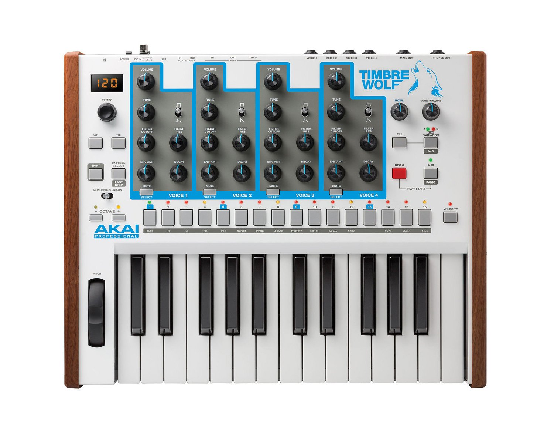 Akai Professional Timbre Wolf | True Analog 4-voice Polyphonic Synthesizer