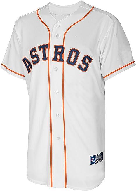 MLB béisbol camiseta/Jersey Houston Astros En colour blanco XL: Amazon.es: Deportes y aire libre
