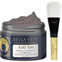 Bella Vita Organic De Tan Removal Face Pack For Fairness,Whitening, Skin Tightening, Glow & Sun Protect For Women and Men, 60g