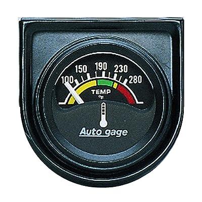 AUTO METER 2355 Autogage Electric Water Temperature Gauge: Automotive