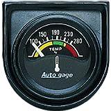 AUTO METER 2355 Autogage Electric Water Temperature Gauge