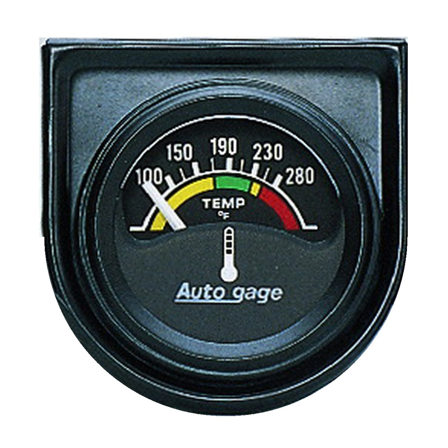 Auto Meter 2355 Autogage Electric Water Temperature Gauge by AUTO METER