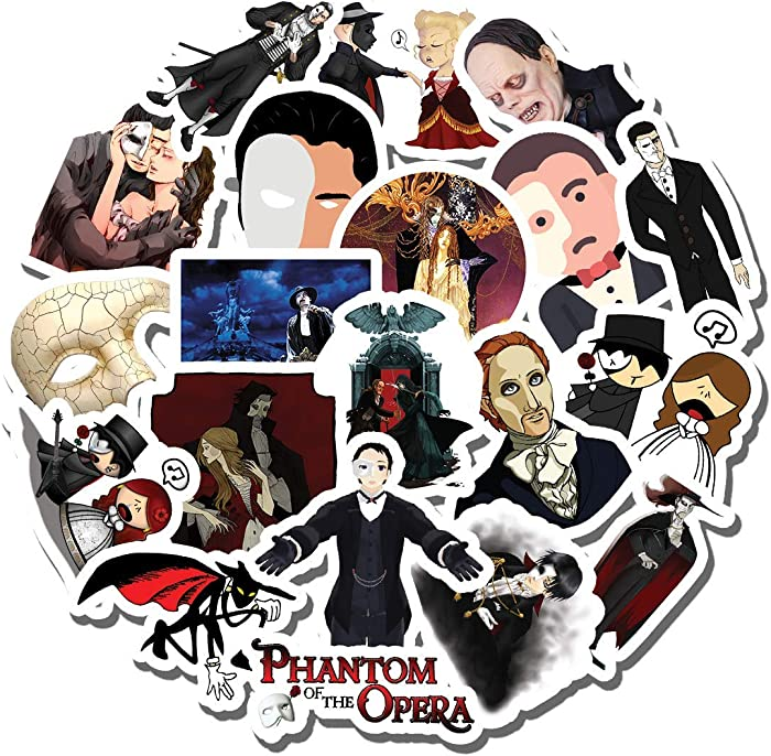Top 10 The Phantom Of The Opera Decal For Laptop