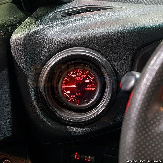 Amazon.com: GlowShift Black Single Gauge Air Vent Pod for 2012-2016 Subaru BRZ & Scion FR-S - ABS Plastic - Mounts (1) 2-1/16