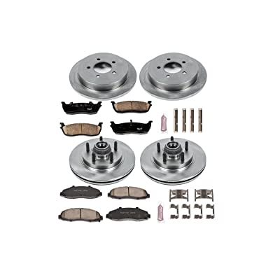 Autospecialty KOE1915 1-Click OE Replacement Brake Kit: Automotive