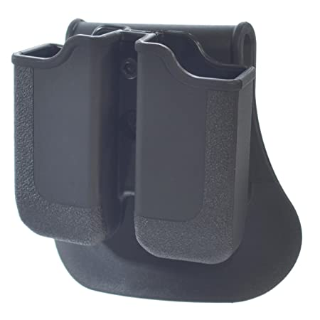 Hunting Paddle Double Magazine Pouch for Glock 17//19//22//23//26//27//31//32//33//34//35