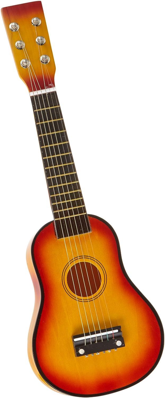 Gitarre / Musikinstrument für Kinder, mit Metallsaiten und Plektrum, geeignet für Kinder ab 3 Jahre small foot company 2020259