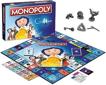 Coraline Monopoly Juego de Mesa: Amazon.es: Juguetes y juegos