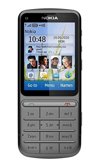 nokia c3 01 sim free mobile phone warm grey amazon co uk electronics rh amazon co uk Nokia C3- 00 Nokia C3- 00
