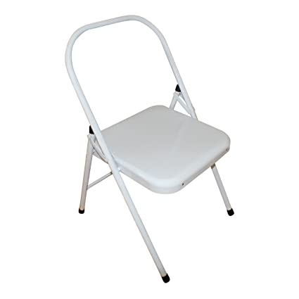 Amazon.com: Backless Yoga silla, color blanco, backbender ...