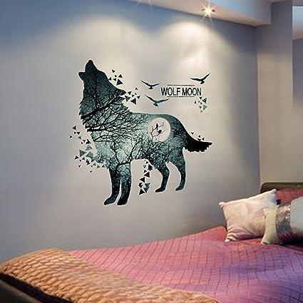 Jyp Dibujos Animados Animales Bricolaje Extraible Pared Pegatinas - Dibujos-de-pared