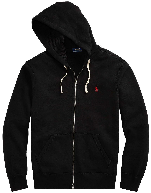 64f90c51 Ralph Lauren Polo Men's Big & Tall Full-Zip Fleece Hoodie ...