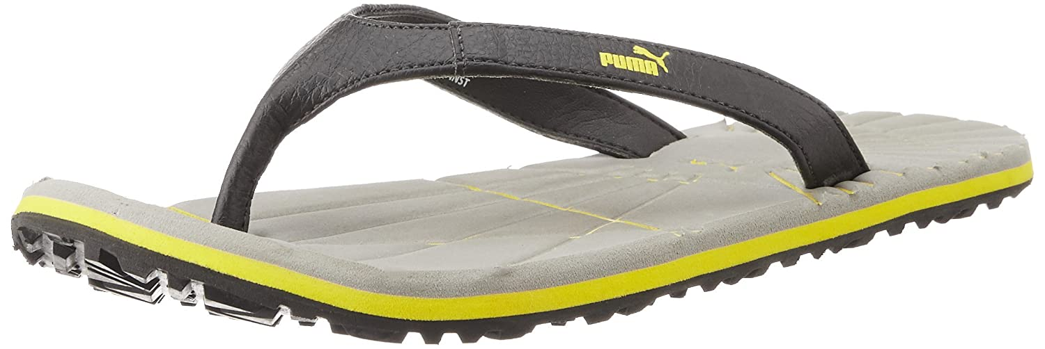 bffbf256930 Puma Unisex Webster DP 2 Steel Grey and Dandelion Rubber Hawaii Thong  Sandals - 11 UK  Buy Online at Low Prices in India - Amazon.in