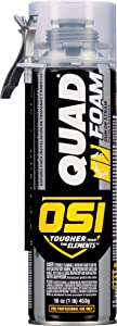OSI QUAD Foam Gun or Straw, 16 Ounce Can (1927125)