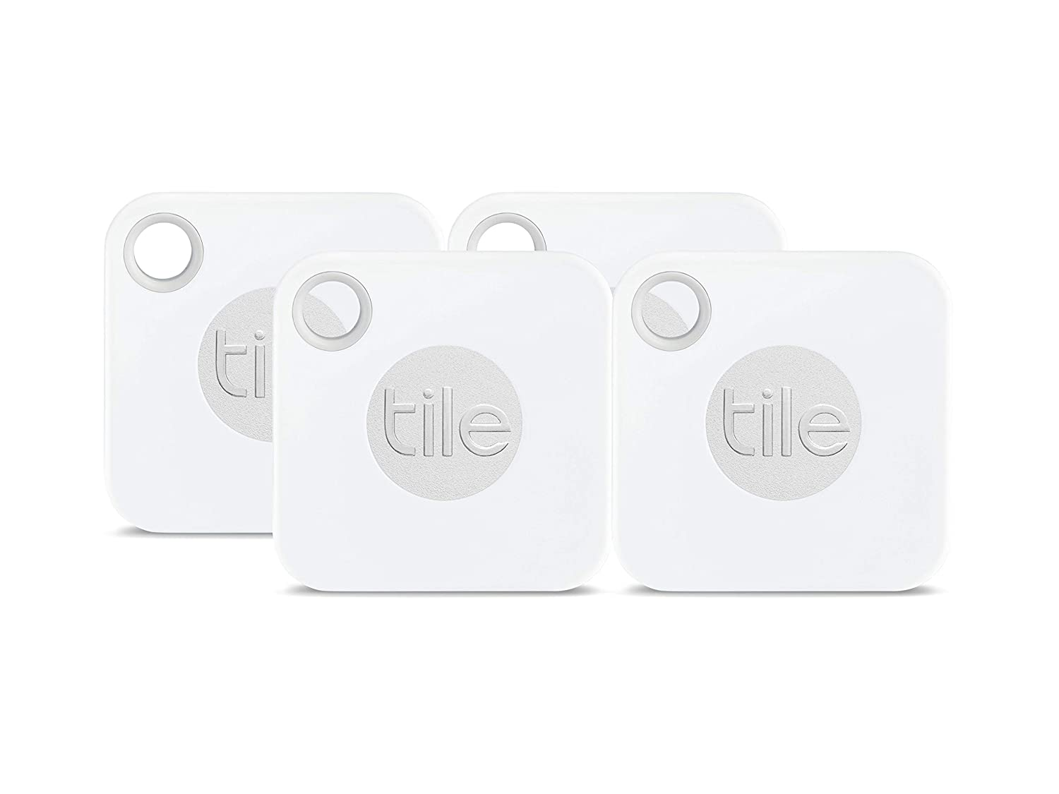 Tile Mate with Replaceable Battery - 4 pack