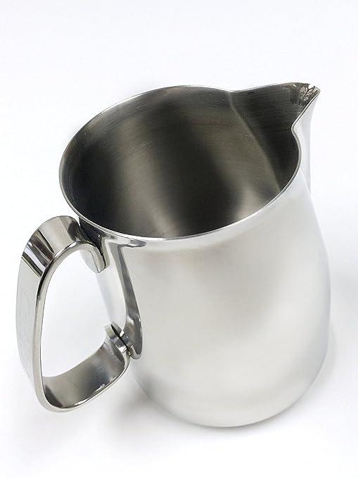 Amazon.com: Cafelat steaming Jarra de leche, Acero ...