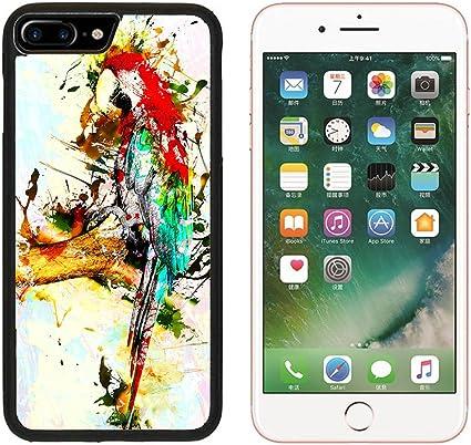Pour Apple iPhone 6 6S 7 Plus Coque Bird Parrot Animal Art ...
