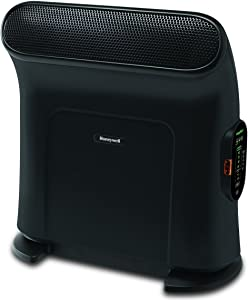 "Honeywell EnergySmart ThermaWave ceramic heater, 18"", Black"