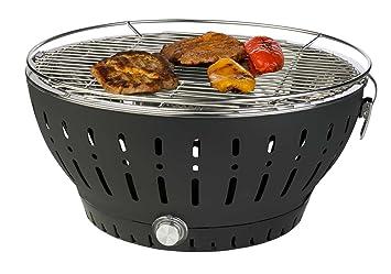 Aobosi Rauchfreier Holzkohlegrill : Holzkohlegrill tischgrill bbq grill charcoal stahl schwarz