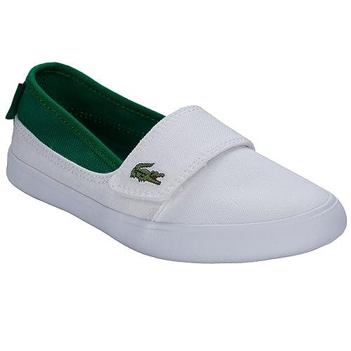 Lacoste Zapatillas Para Niño Azul Azul, Color Blanco, Talla 28 EU Niño: Lacoste: Amazon.es: Zapatos y complementos