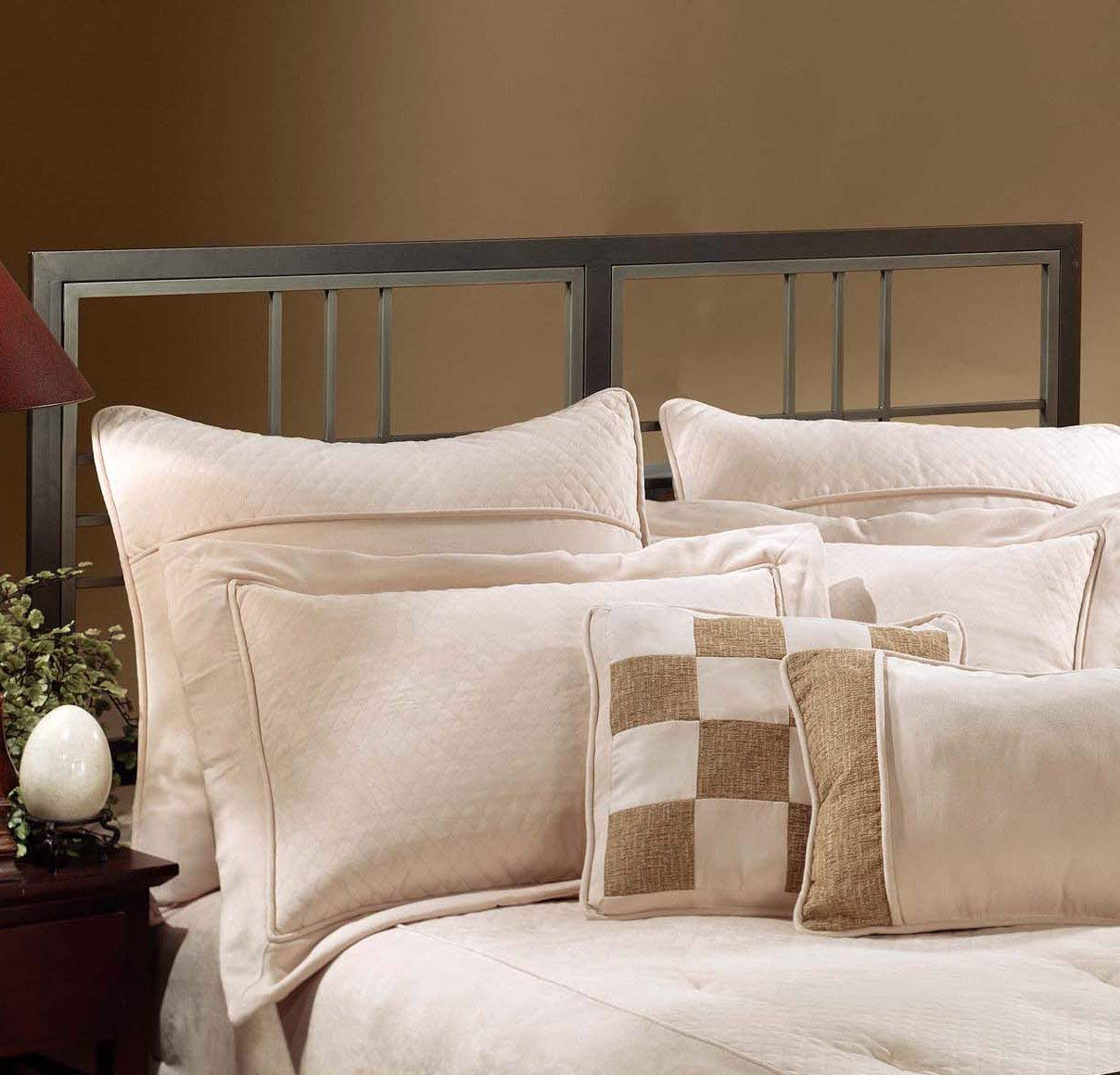 Hillsdale Furniture Tiburon Bed Set with Rails, Full, Magnesium Pewter by Hillsdale Furniture