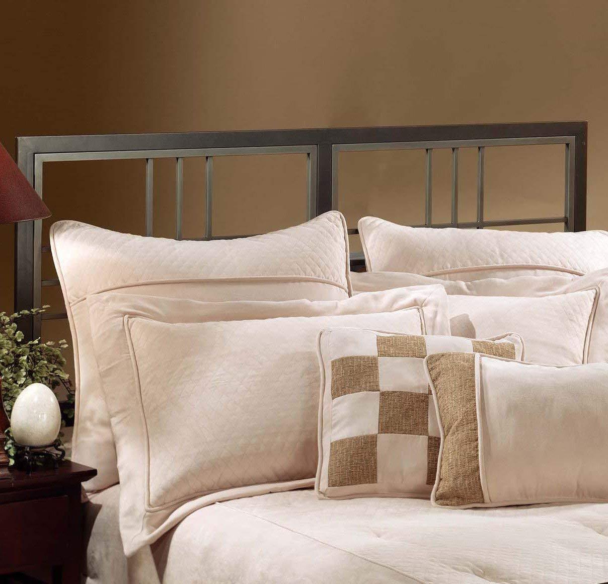Hillsdale Furniture 1334BFR Tiburon Bed Set with Rails, Full, Magnesium Pewter