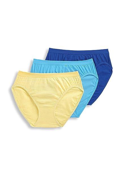 c106fbca9617 Jockey Women's Underwear Comfies Cotton French Cut - 3 Pack ...