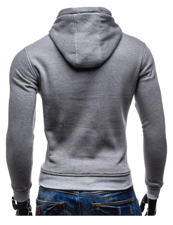 Letuwj Mens Two Button Blazer V-Neck Business Suit