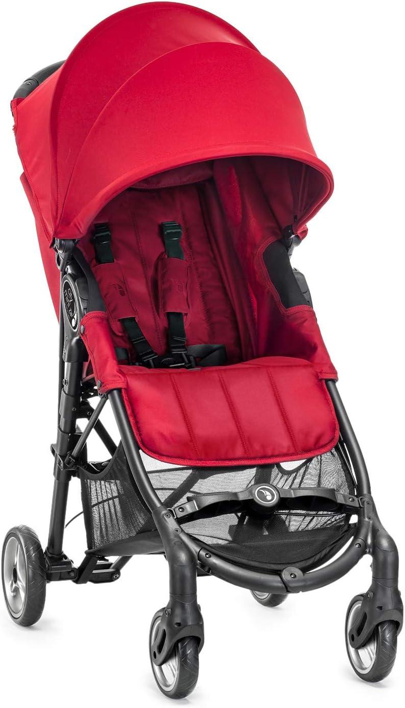 Baby Jogger City Mini Zip - Silla de paseo, color rojo