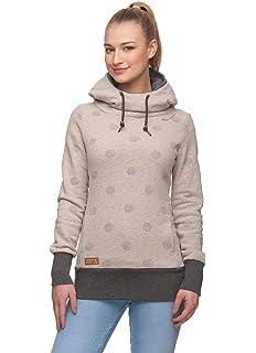 RAGWEAR Damen Sweater GRIPY TEDDY Hoodie 2019 beige Streetwear Sweatshirt