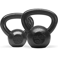 Yes4All Combo Special: Cast Iron Kettlebell Weight Sets – Weight Available: 5, 10, 15, 20, 25, 30 lbs